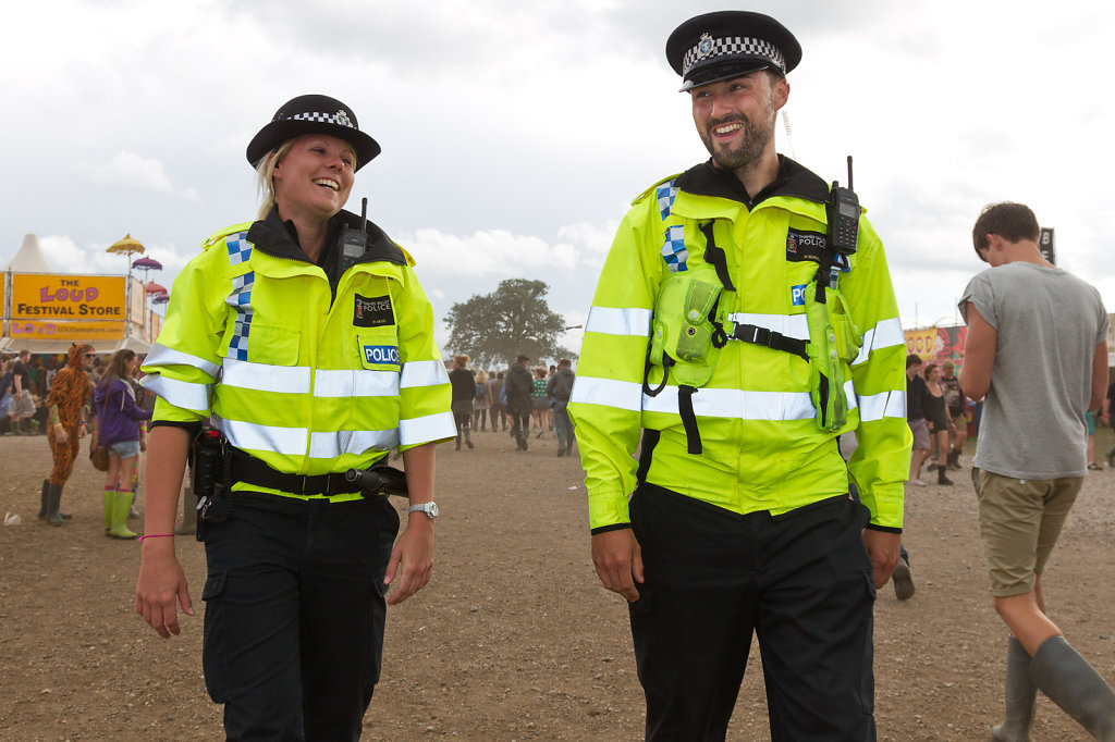 Thames Valley Police at the Reading Festival 2012