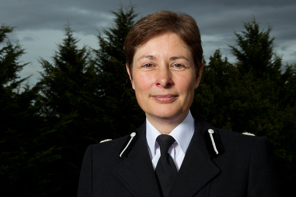 Portrait of Assistant Chief Constable Helen Ball
